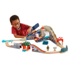 Thomas The Train Table And Chairs Ergonomic Chair Standards Friends Toy Trains Track Sets Fisher Wooden Railway Pirate Cove Discovery Set