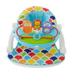 Fisher Price Sit And Play Chair How To Make A Swivel Stationary Me Up Floor Seat With Toy Tray Drh80spm2 Oszoom