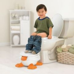 Fisher Price Duck Potty Chair Craftsman Rocking Ducky Fun 3 In 1