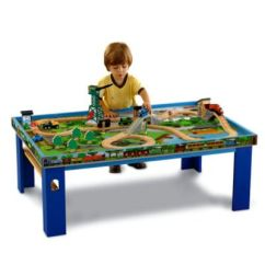 Thomas The Train Table And Chairs Extra Large Saucer Chair Friends Toy Trains Track Sets Fisher Wooden Railway Island Of Sodor Play