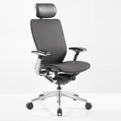 ergonomic computer chair white covers to buy high back mesh with black frame 57014 and more lifetime guarantee