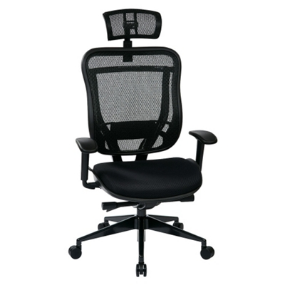 add on headrest for office chair eddie bauer mesh high back with 57001 and more lifetime guarantee