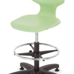 Adjustable Height Chairs Office Customer Stool With Glides 51802 And More Lifetime Guarantee