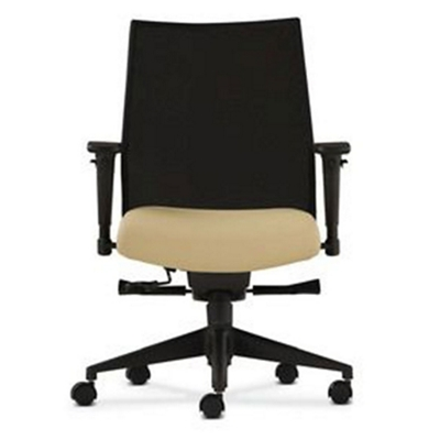 office chair with adjustable arms wheelchair exercises mid back and mesh 56791 mouse over image for a closer look