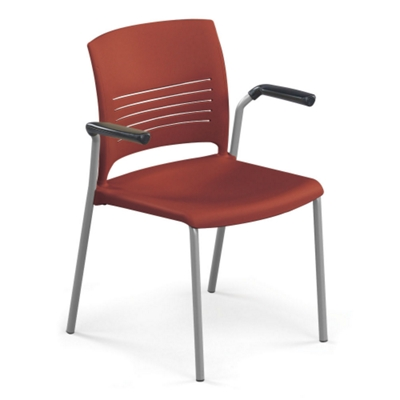ki strive chair bloom fresco high insert stack with arms 51290 and more lifetime guarantee