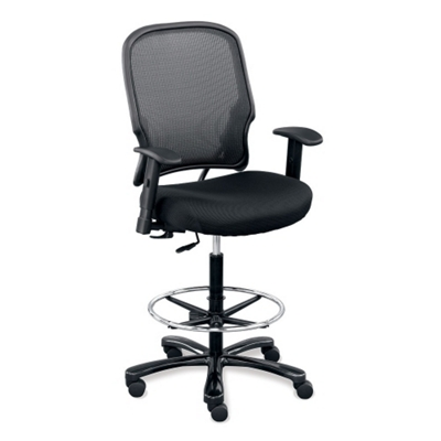 office chair vs stool recliner for sale big and tall chairs shop heavy duty nbf com linear collection memory foam with arms 50972
