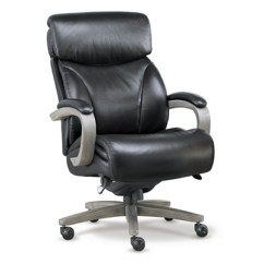 Office Chair Leather Zero Gravity Chairs For Sale La Z Boy Revere Top Grain Big Tall Executive Nbf Com