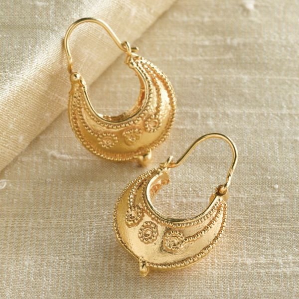 Reproduction Etruscan Jewelry Earrings
