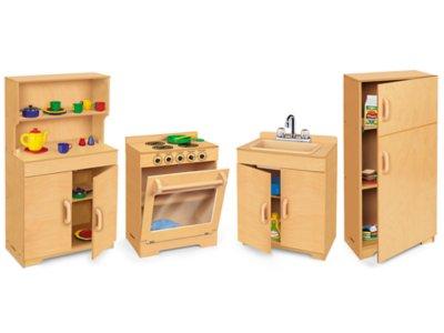Lakeshore Hardwood Kitchen Set at Lakeshore Learning