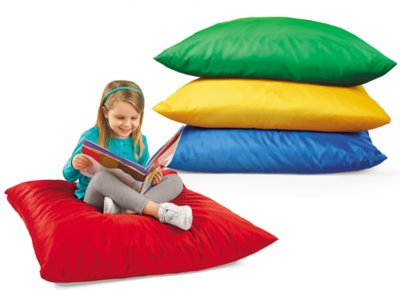 Giant Comfy Pillows at Lakeshore Learning