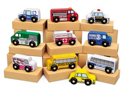 hardwood community vehicles set