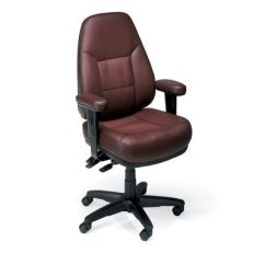Ergonomic Chair Back Angle Best Office For Lower Issues Work Smart Bonded Leather Officechairs Com Img