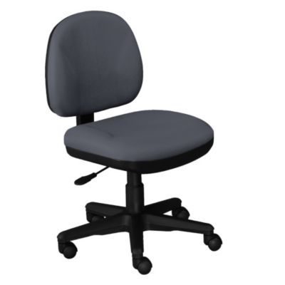 Armless Fabric Task Chair  CH03955 and other Computer Chairs