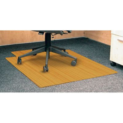 bamboo chair mat craigslist office the do s some don ts of purchasing a officechairs com standard 36 x 48 with lip 5mm thick