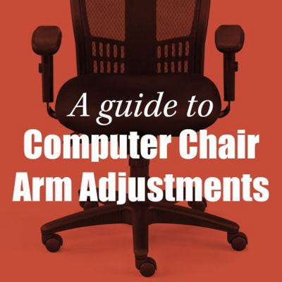 A Guide to Office Chair Armrest Adjustments  OfficeChairscom