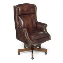 Genuine Leather Chair Wedding Covers Hire Durham Chairs Seating W Free Shipping Officechairs Com Traditional Style