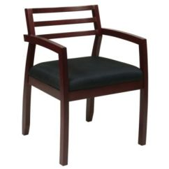 Wood Office Chair Ikea Desk Jules Wooden Chairs Seating Officechairs Com Napa Frame Guest Ch51096