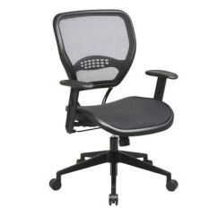 Ergonomic Chair Description Lounge Covers Brisbane Space Air Grid Mesh Mid Back Officechairs Com Img