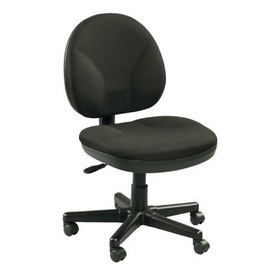 Armless Fabric Upholstered Computer Chair  CH02424 at