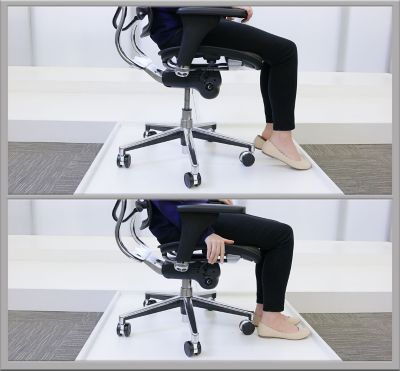 office chair back pain bedroom with storage the best chairs for lower officechairs com seat height