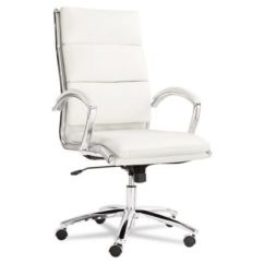 Alera Office Chairs Executive Chair Leather Officechairs Com Neratoli Vinyl High Back Ch50800