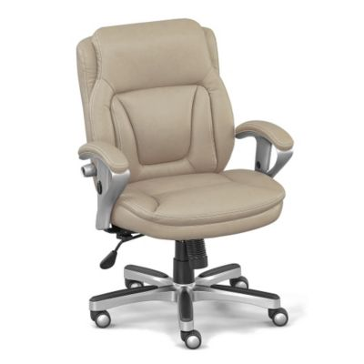 ergonomic chair for short person pottery barn megan slipcovers petite low height computer w memory foam seat officechairs com img