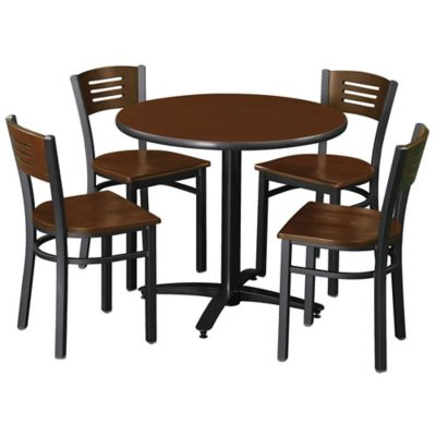 Break Room Table  Four Chairs  Caf by KFI