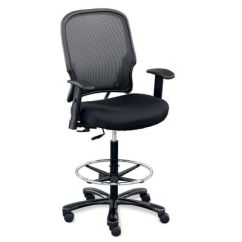Desk Chair Tall Little Tikes Table And 2 Chairs Heavy Duty Big Office Officefurniture Com Linear Stool With Memory Foam Ofg Ch1051