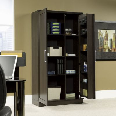 Sauder HomePlus Jumbo Storage Cabinet  OfficeFurniturecom