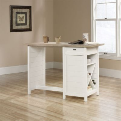 Cottage Road Counter Height Table Desk 53Wx36H