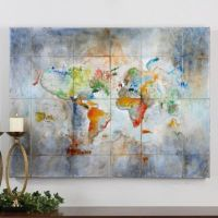 World of Color - Canvas Wall Art - 8801873 ...