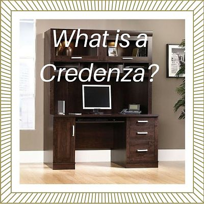 What is a Credenza? It's History & Today's Use