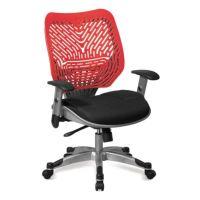 Ventilated Mesh and Plastic Ergonomic Task Chair ...