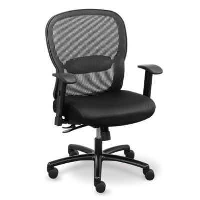 Big and Tall Memory Foam Computer Chair in Mesh