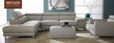 natuzzi sofa bed clearance paulo leather recliner corner group chocolate editions | hudson's bay