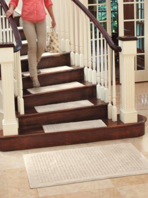 Self Stick Carpet Stair Treads Best Simple Carpet Stair