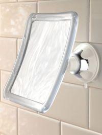 Fog-Free Suction Mirror - Shower Mirror   Solutions