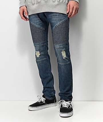 biker jeans zumiez