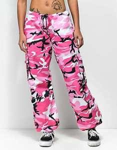 Rothco hot pink camo bdu pants also women   leggings zumiez rh