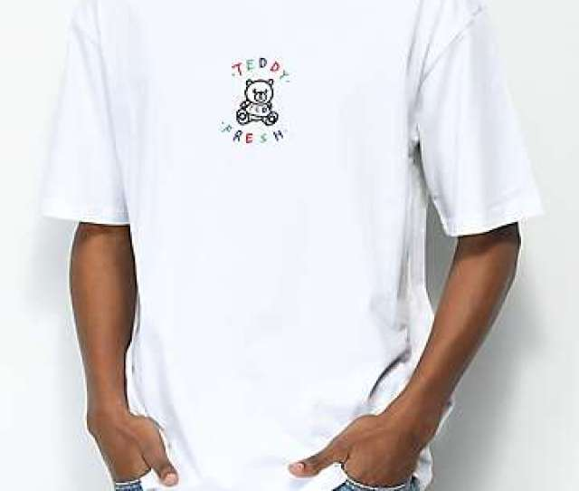 Teddy Fresh Embroidery White T Shirt
