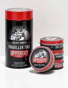 Uppercut deluxe pomade travel tin also size guide zumiez rh