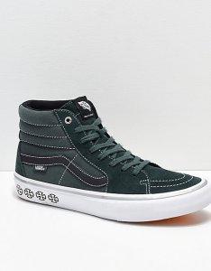 Vans  independent sk hi pro spruce green skate shoes also zumiez rh
