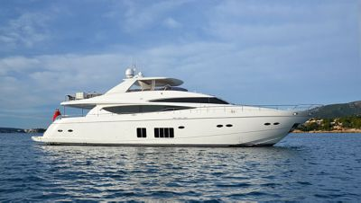 Motor Yacht Rosso Sold By Princess Brokerage Boat