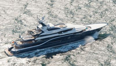 Photos Of Lrssen Superyacht Solandge During Sea Trials Boat International
