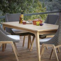 Retro Outdoor Dining Set