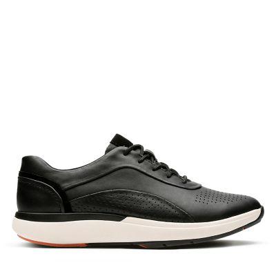 Un Cruise Lace Black Leather  Womens Wavewalk Shoes