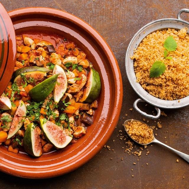 Marokkanische Hühner-Tajine mit Couscous | HOFER Rezeptwelt