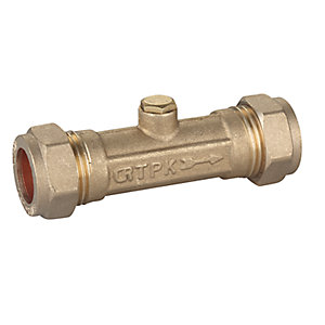 15mm Double Check Valve Dzr City Plumbing Supplies