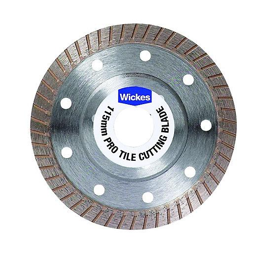 wickes pro granite tile cutting blade 115mm