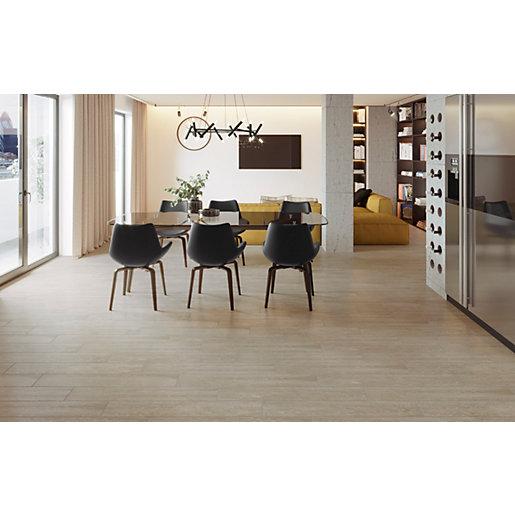 wickes kielder light oak wood effect porcelain wall floor tile 900 x 150mm